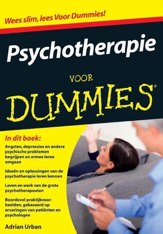 Voor Dummies - Psychotherapie voor Dummies - Adrian Urban  