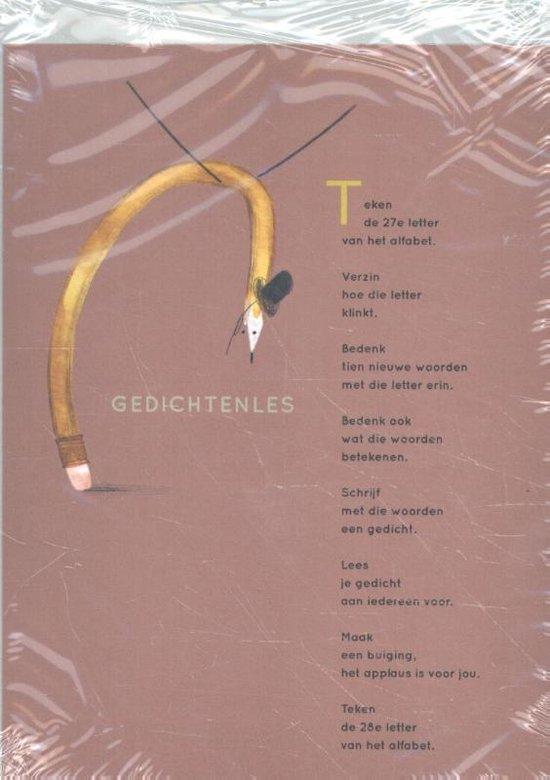 Plint 10 kaarten Gedichtenles Tim Gladdines - Tim Gladdines | Fthsonline.com
