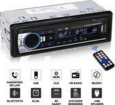 Autoradio | Alle auto's | Handsfree BLUETOOTH USB SD AUX |  Afstandsbediening | Enkel din