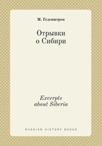 Excerpts about Siberia
