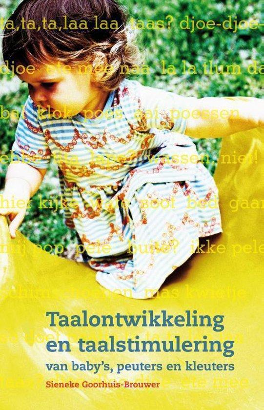 Taalontwikkeling en taalstimulering van baby's, peuters en kleuters - Sieneke Goorhuis-Brouwer | Readingchampions.org.uk