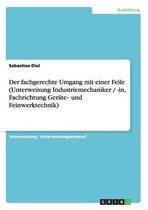 Der Fachgerechte Umgang Mit Einer Feile (Unterweisung Industriemechaniker / -In, Fachrichtung Gerate‐ Und Feinwerktechnik)