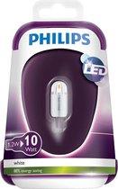 Philips 1,2W (10W) G4 LED Steeklamp Warm Wit