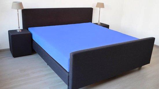 Snoozing Jersey - Hoeslaken - 100% gebreide katoen - 180x210/220 cm - Meermin