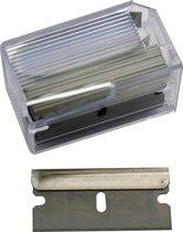 Stanley reservemesjes - Reservemes - verfkrabber - Glasschrapermes - 10 stuks - 0-28-510 - Geel