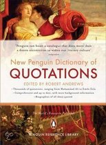 Boek cover The New Penguin Dictionary Of Quotations van R. Andrews