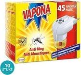 Vapona Anti Mug Stekker 45 Nachten Voordeelverpakking