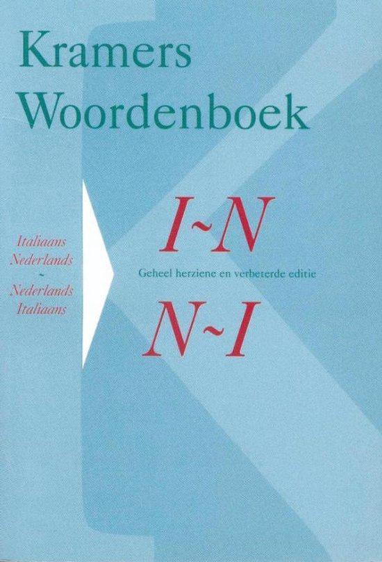 Kramers Woordenboek / Italiaans-Nederlands Nederlands-Italiaans - Onbekend pdf epub