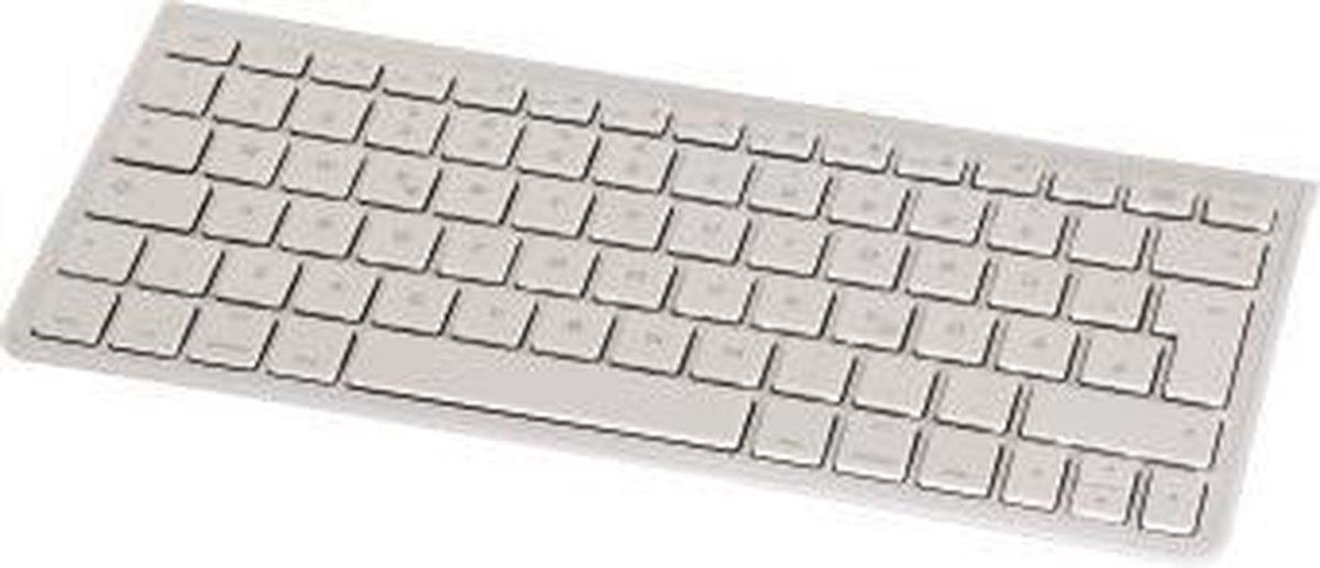 Hama 106359 Qwerty Bluetooth Toetsenbord voor iPad Wit