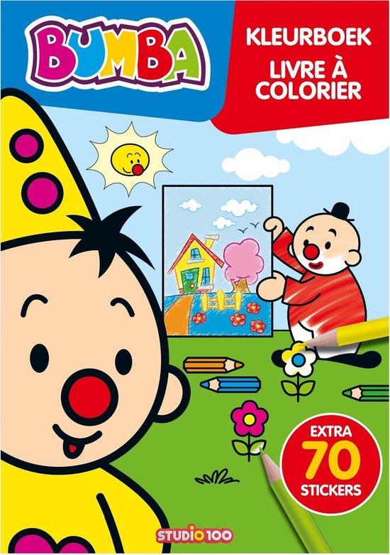 Bumba kleurboek met stickers - Studio 100