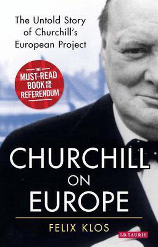 Boek cover Churchill on Europe van Felix Klos (Paperback)