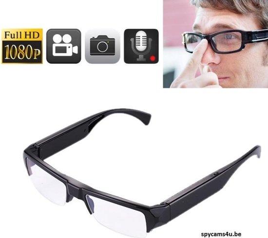 Bril met verborgen camera - Bril met camera en microfoon - Bril met spy camera