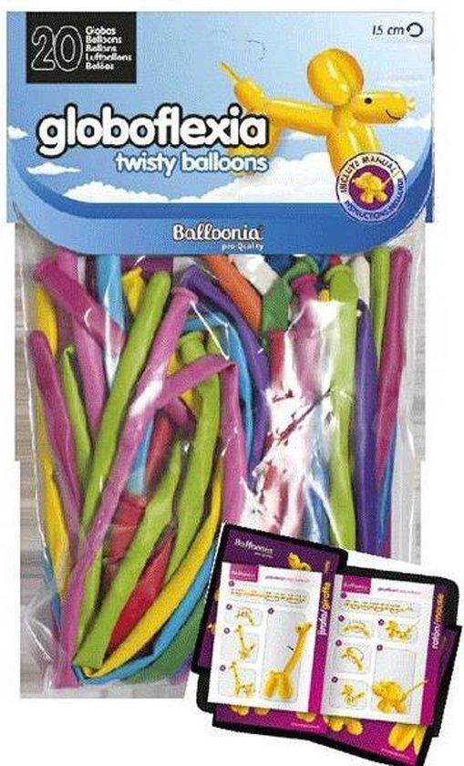 Modelleer ballonnen inclusief gebruiksaanwijzing