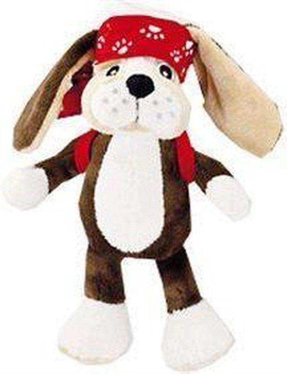 Beanbag Vipo bandana - knuffel hond - 20cm