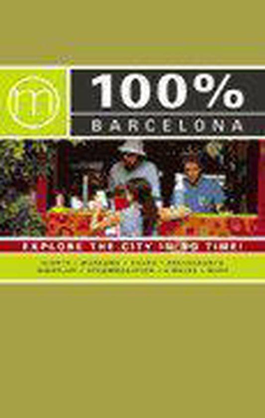 Cover van het boek '100 % Barcelona / Engelstalige editie' van Nieke Stein en  Mo''Media