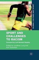 Boek cover Sport and Challenges to Racism van