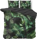 Sleeptime Wild Plants - Dekbedovertrekset - Lits-Jumeaux - 240x200/220 + 2 kussenslopen 60x70 - Groen