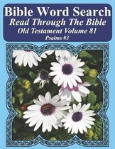 Bible Word Search Read Through the Bible Old Testament Volume 81