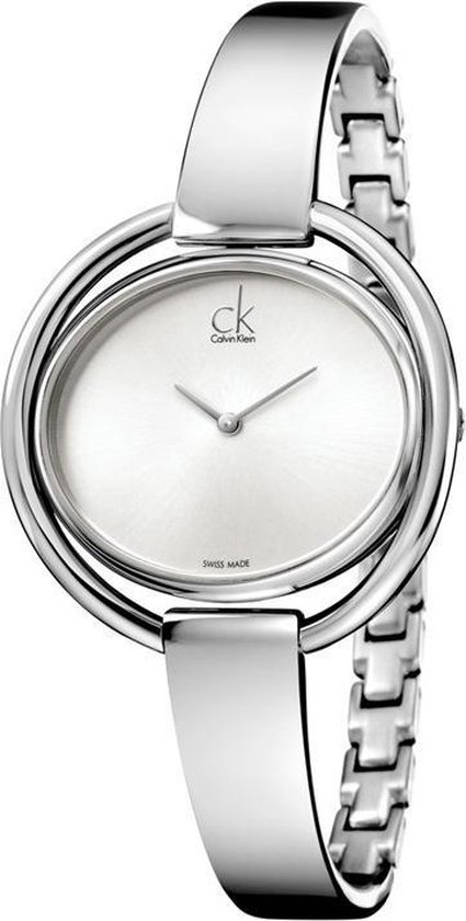Calvin Klein Impetuous Lady Adjustable horloge – Zilverkleurig