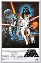 Star Wars Poster Style 'C'-  episode IV-A New Hope--61 x 91,5 cm
