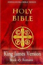 Boek cover Holy Bible, King James Version, Book 45 Romans van Zhingoora Bible Series