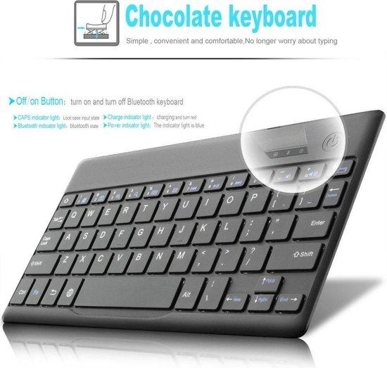 | Huawei MediaPad T3 10 Bluetooth Keyboard Cover zwart