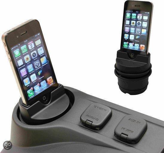 EBS active iPhone dock voor iPhone 3/3GS/4/4S - Zwart