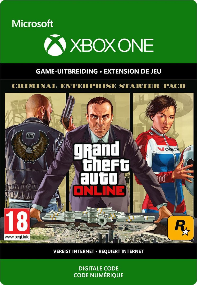 Grand Theft Auto V (GTA 5): Criminal Enterprise Starter Pack - Add-on - Xbox One Download