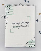 Verjaardagskalender met quotes - Geluksbrengertje