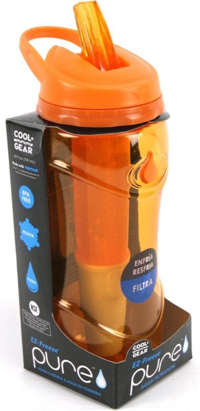 Drinkfles Laica Filter Oranje - Basic