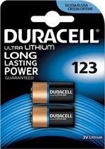 7x Duracell Ultra Lithium 123, blister a 2 stuks