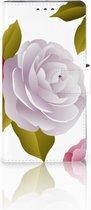 Sony Xperia XZ1 Bookcase Hoesje Roses