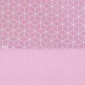 Laken 120x150cm Graphic mauve