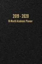 2019 - 2020 18-Month Academic Planner