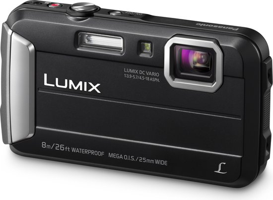 Panasonic Lumix DMC-FT30 - Zwart