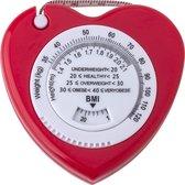 BMI Meter Meetlint lichaam Body Mass Tape Hart