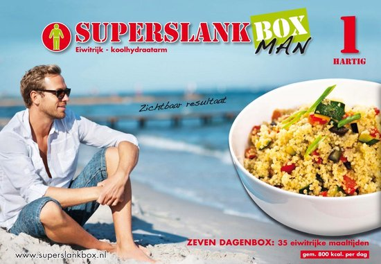 SuperslankBox Man 1 Hartig - 35 maaltijden