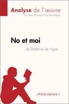 Afbeelding van No et moi de Delphine de Vigan (Analyse de loeuvre)