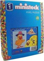 Ministeck Pixel Puzzel - Onze Zandman 1000-delig