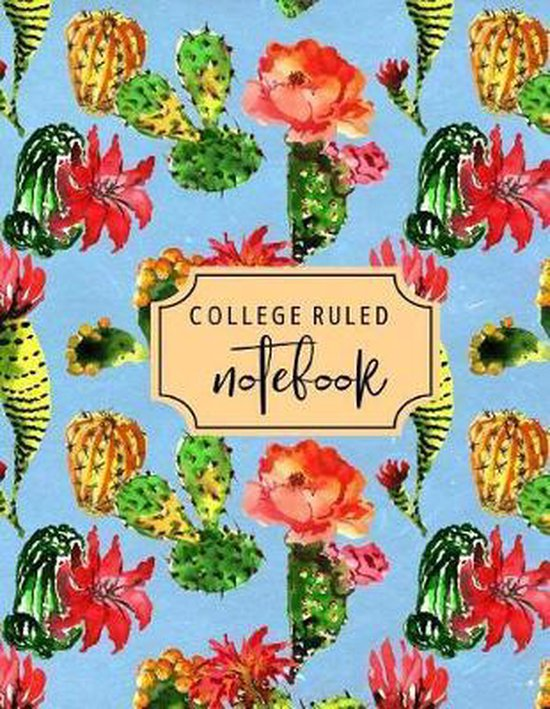 College Ruled Notebook