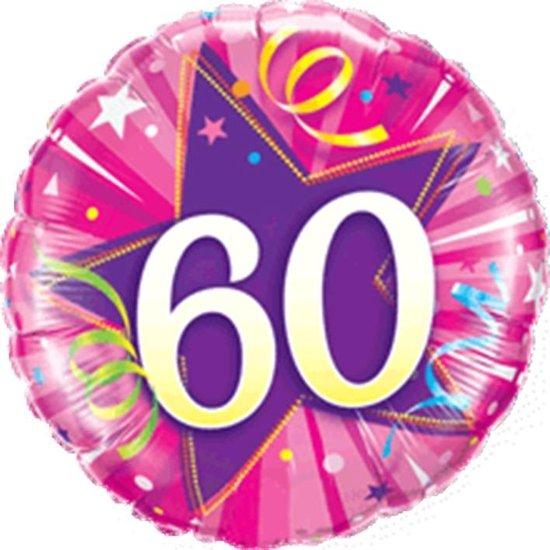 Folieballon 60 jaar