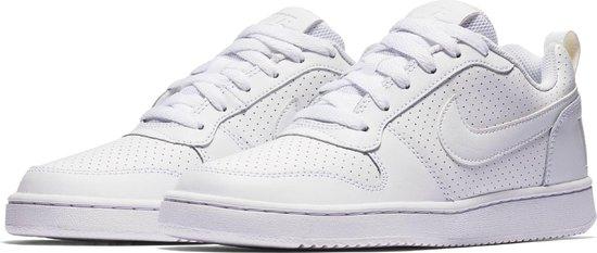 Nike Court Borough Low Sneakers Dames - White/White-White - Maat 42.5