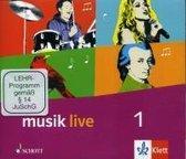 Musik live. Klasse 5 und 6. Allgemeine Ausgabe. CD-Box mit 3 CDs und 1 CD-ROM