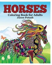 Horses Coloring Book for Adults