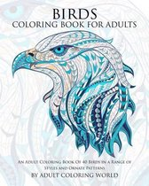 Birds Coloring Book for Adults