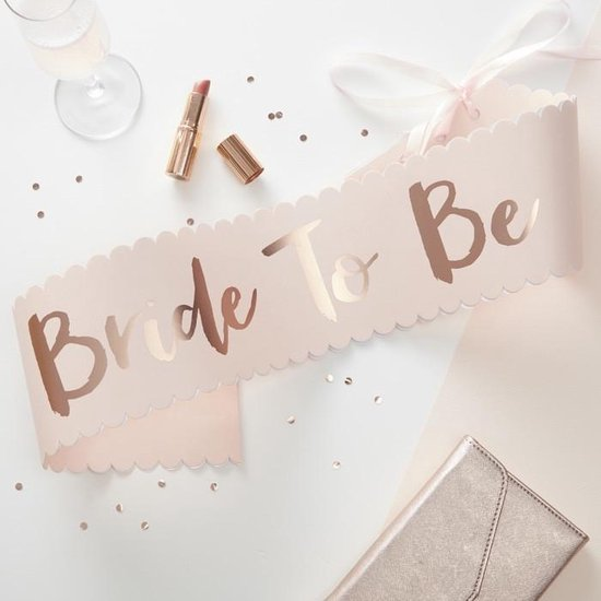 Pink & Rose Gold - Bride To Be - Sjerp