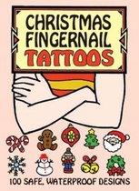 Christmas Fingernail Tattoos