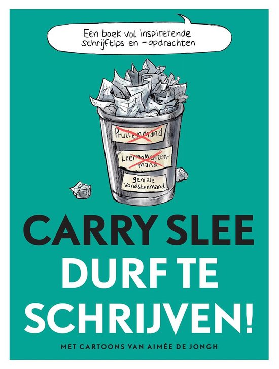 Boek cover Durf te schrijven! van Carry Slee (Onbekend)