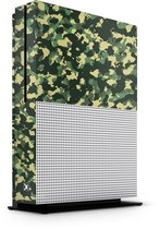 Xbox One S Console Skin Camouflage Groen