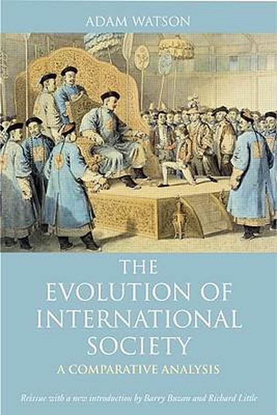 Boek cover The Evolution of International Society van Adam Watson (Paperback)